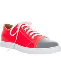 Marc Jacobs - Laceup Trainer - Lyst