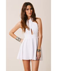 Naven Criss Cross Vixen Dress - Lyst
