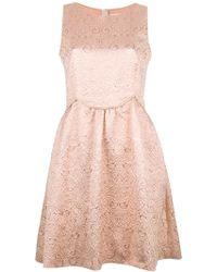 RED Valentino Sleeveless Dress pink - Lyst
