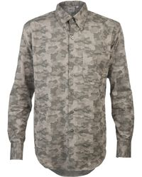 Naked & Famous Slim Fit Camo Shirt - Lyst