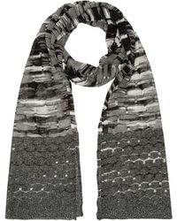 Missoni Mixed Knit Scarf - Lyst