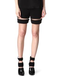 Alexander Wang Cut-Away Shorts - Lyst
