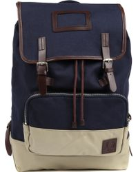 Fred Perry Canvas Rucksack - Lyst