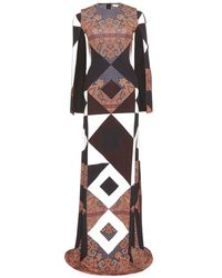 Givenchy Print Maxi Dress - Lyst