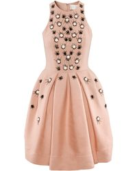 H&M Dress with Beaded Embroidery - Lyst