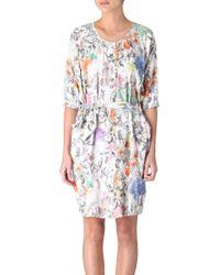 Paul Smith Printed Dress - Lyst
