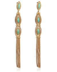 Aurelie Bidermann Sunset Pendent Earrings - Lyst