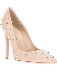 Gianvito Rossi Studded Pump - Lyst