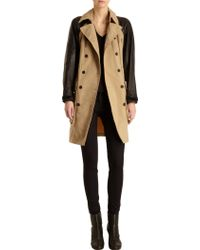 Rag & Bone Bishop Trench black - Lyst