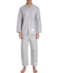 Thom Browne - Gingham Check Pyjama Set - Lyst