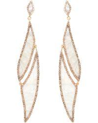 Maiyet - Diamond Enamel Amazon Journey Earrings - Lyst