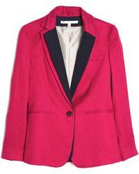 Veronica Beard The Jacket with Tuxedo Dickey - Lyst