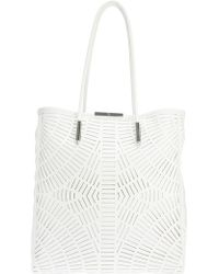 McQ by Alexander McQueen Slashed Tote - Lyst