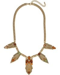 BaubleBar Earth Amun Necklace - Lyst