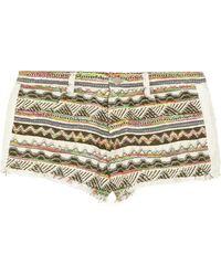 IRO Lofina Aztec-Patterned Jacquard Shorts - Lyst