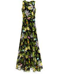 Isolda Rita Silk Dress - Lyst