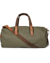 Marc By Marc Jacobs | Leathertrimmed Canvas Holdall Bag | Lyst