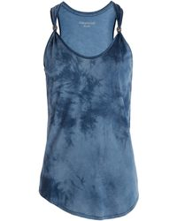 Zadig & Voltaire Top Hilda Tie and Dye Deluxe blue - Lyst