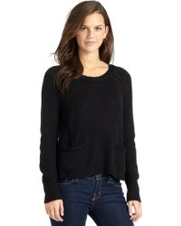 W118 by Walter Baker - Kyne Pocket Sweater - Lyst