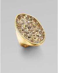 Alexis Bittar Swarovski Crystal Encrusted Pool Ring - Lyst
