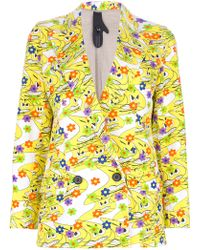 Bernhard Willhelm - Smiley Print Blazer - Lyst