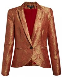 Elizabeth And James Wren Blazer in Coral - Lyst