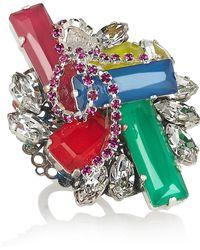 Erickson Beamon - Colour Me Crazy Swarovski Crystal Ring - Lyst
