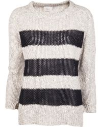Giada Forte - Striped Jumper - Lyst