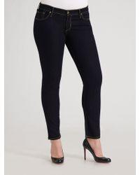 James Jeans Skinny Stretch Denim Jeans blue - Lyst