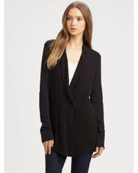 James Perse Shawl Collar Jacket - Lyst