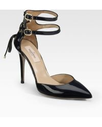 Valentino Patent Leather Pointtoe Pumps - Lyst