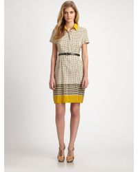Weekend by Maxmara Silkcotton Boario Dress - Lyst