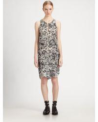 3.1 Phillip Lim Spotted Ponyprint Silk Dress - Lyst
