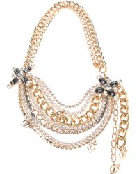 DSquared² Multi Chain Necklace - Lyst