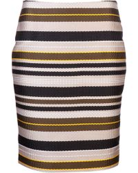 Jenni Kayne - Striped Pencil Skirt - Lyst