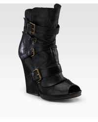 Dolce Vita - Hamilton Open-toe Boots - Lyst