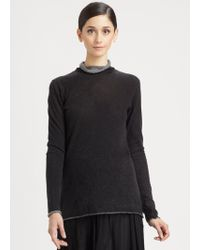 Donna Karan New York Cashmere Top - Lyst