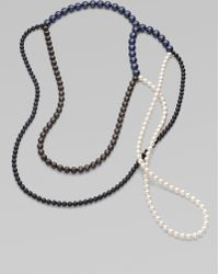 FLorian - Multicolor Pearlized Bead Necklace - Lyst