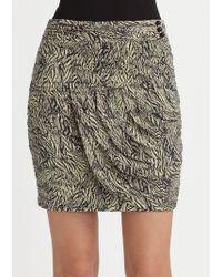 Leifsdottir - Cockatoo Feathers Print Skirt - Lyst