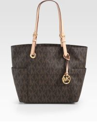 MICHAEL Michael Kors Signature Logo-Patterned Tote - Lyst