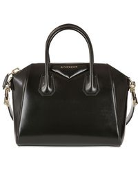 Givenchy Small Antigona Shiny Smooth Leather Bag - Lyst