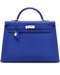 Heritage Auctions Special Collections 40cm Electric Blue Epsom Leather Kelly - Lyst