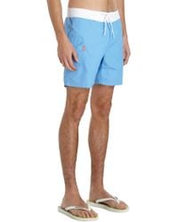 Saltbox - Cargo Pocket Swim Trunks - Lyst
