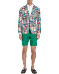 Thom Grey - Madras Patchwork Sportcoat - Lyst