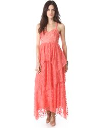 Free People Summer Breeze Party Dress - Lyst