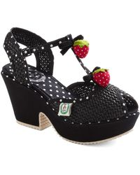 ModCloth Strawberry Heels Forever - Lyst