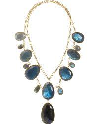Pippa Small - Labradorite Empire Necklace - Lyst