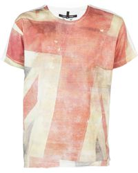 Sons Of Heroes Union Flag Tee red - Lyst
