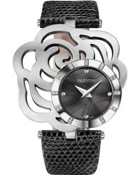 Valentino - Rosier Stainless Steel Watch - Lyst