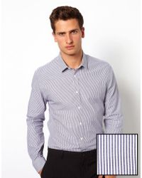 Rock Revival - Asos Smart Stripe Shirt - Lyst